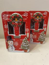 Kerstblik deur rood (klein)
