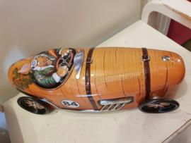 Paasblik auto (draaiende wielen)