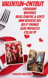 Valentijn Ontbijt bij Restaurant 't Haagsch Snoephuis
