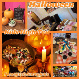 Halloween Griezel Kids High Tea (Woe/Zat)