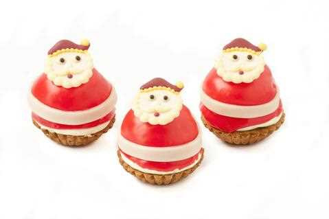 Boheemen Kerstman gebakje