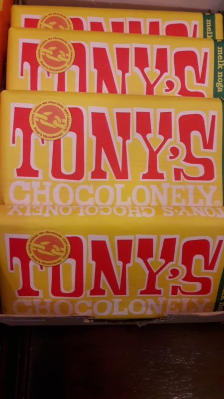 Tony's Chocolonely (melk/noga)