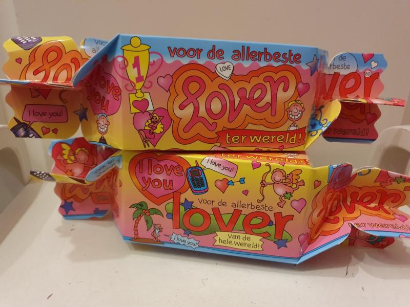 Toffeedoos Lover (gevuld met Sorini Chocolade)