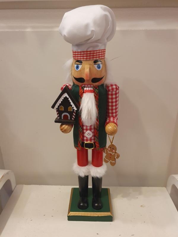 Notenkraker Ginger Bread Cook (groot)