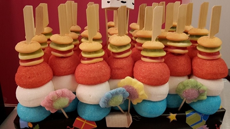 Hamburger Spekbol Taart