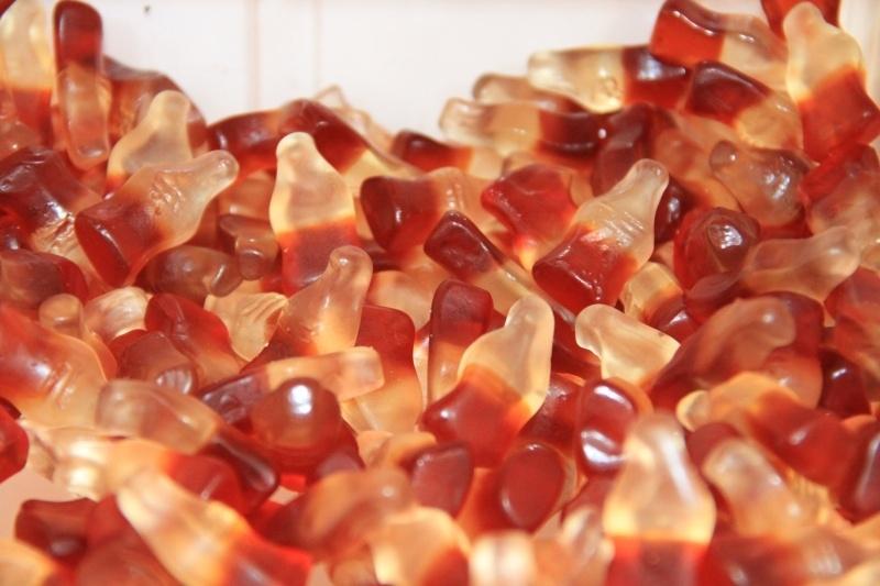 Cola flesjes