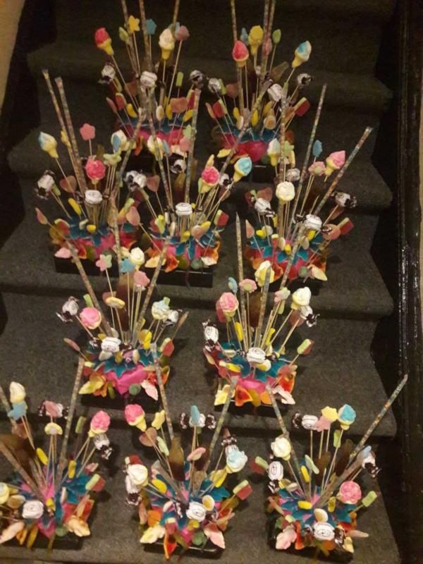 Sweet Sixteen SnoepTaartjes