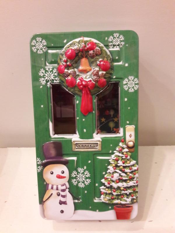 Kerstblik deur groen (groot)