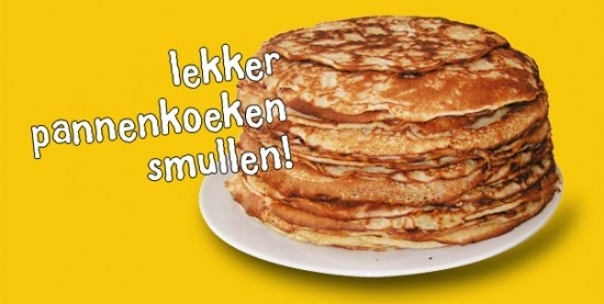 Pannenkoeken All You Can Eat! (Kinderfeestje)