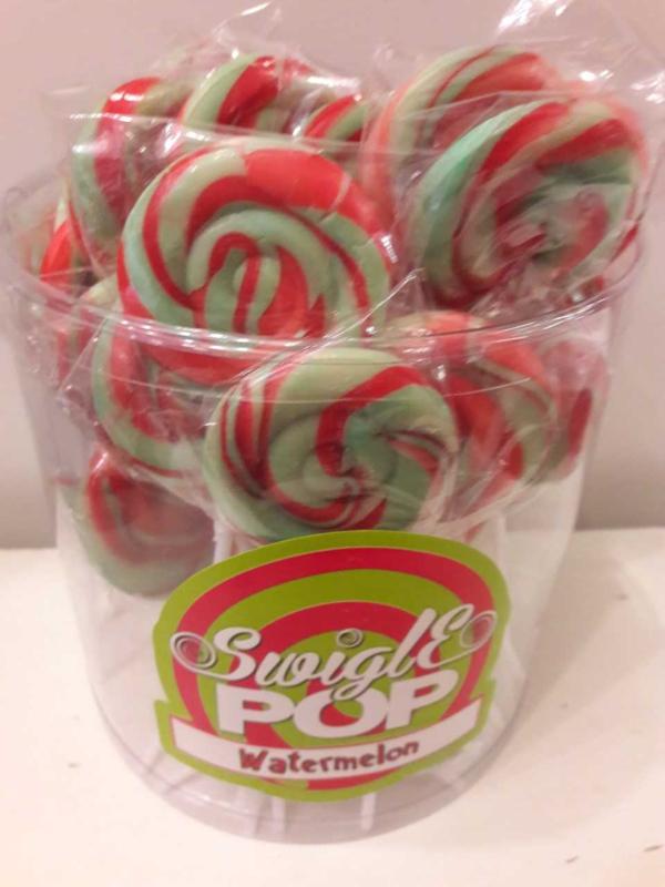 Swigle Pop Lolly (Watermeloen)