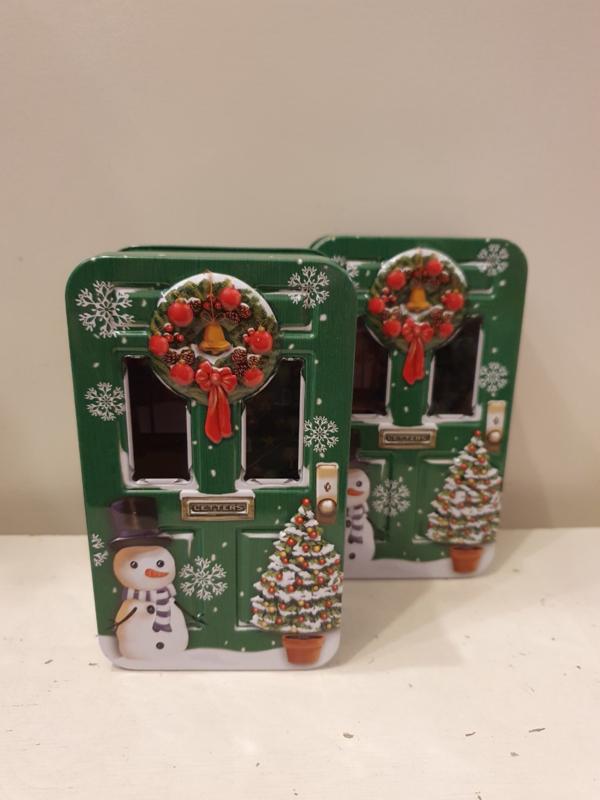 Kerstblik deur groen (klein)