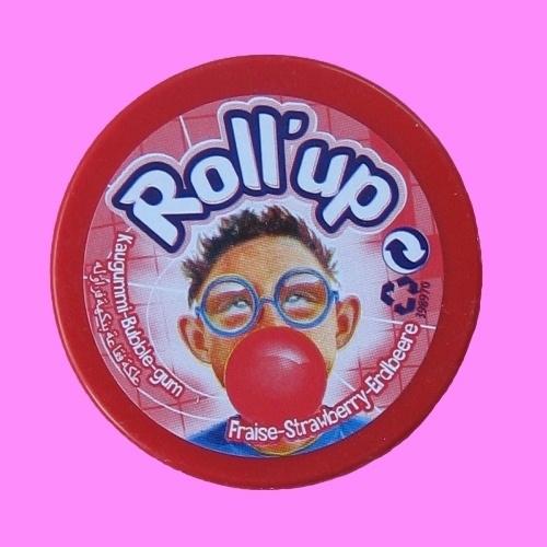 Rollup Kauwgom (aardbei)