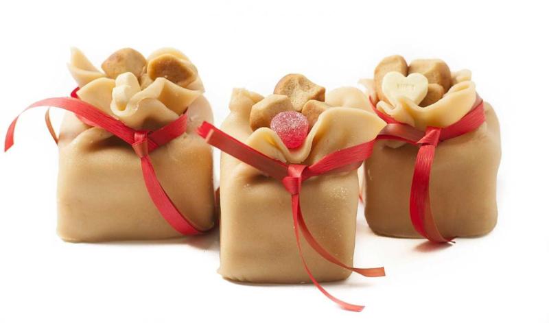 De zak van Sinterklaas (gebakje)