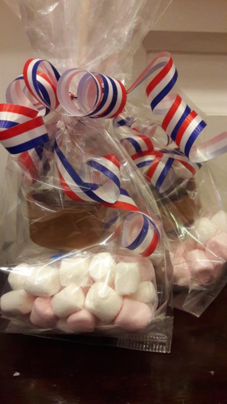Chocolademelk Sticks met Marshmallows (Handgemaakt)