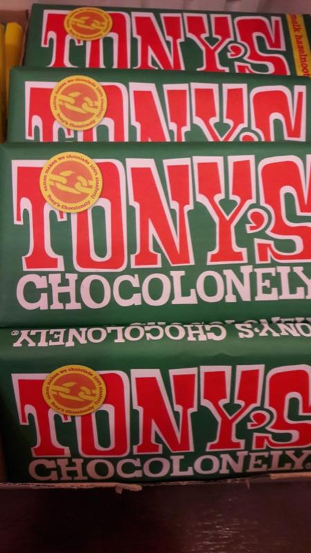 Tony's Chocolonely (melk/hazelnoot)