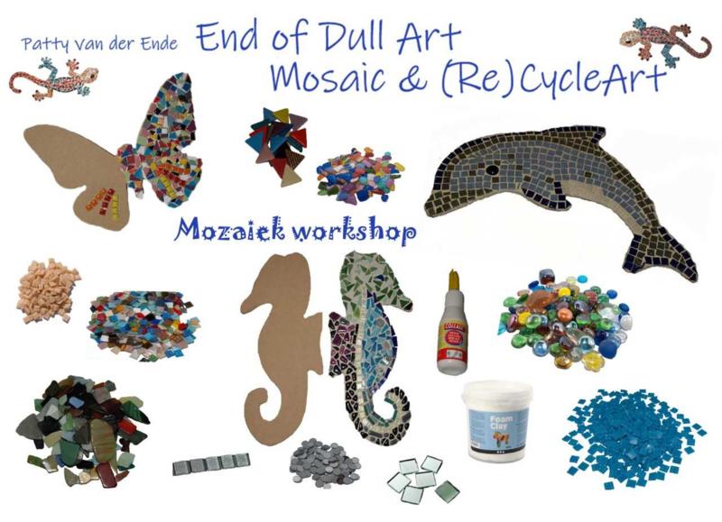 Workshop Mozaiek + Lekkernijen (Kids vanaf 7 jaar)