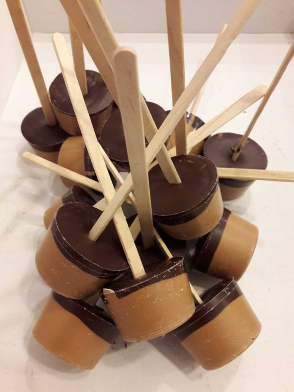 Chocolademelk Stick