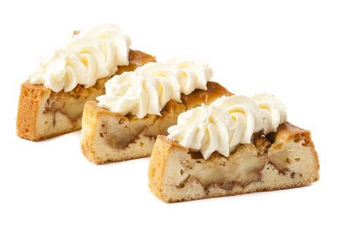 Appel Cake Punt Slagroom