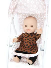 Speelgoed Buggy Pink Leopard