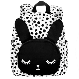 Backpack Bunny White Dots Big