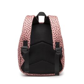 Backpack Bunny WarmPink Dots met naam