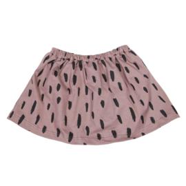 Skirt Dark Pink Stripes