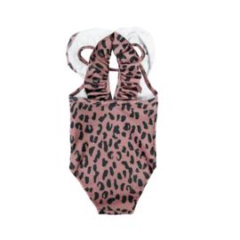Badpak Warm Pink Leopard