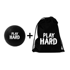 Soccer Ball + Backpack Play Hard
