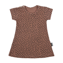 Dress Warm Pink Dots Short SS20