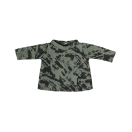 Poppenshirtje Green Distress