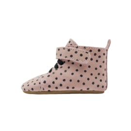 Booties Pink Dots Name