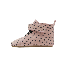 Booties Pink Dots