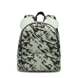Backpack Bear Green Distress