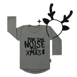 Make Some Noise Xmas + Deer Headband