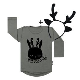 Bunny Deer + Deer Headband