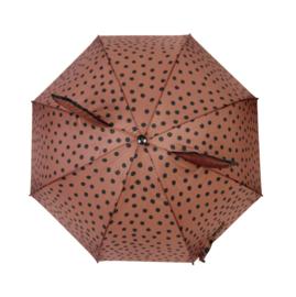 Umbrella Dark Pink Dots
