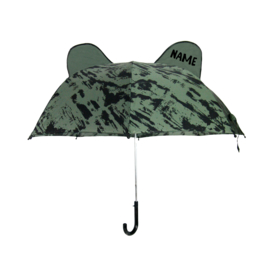 Umbrella Bear Green Distress met Naam