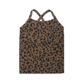 Top Brown Leopard  SS20