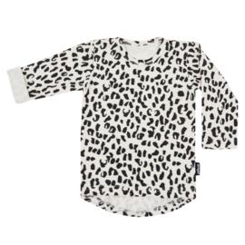Tee Ecru Leopard Long