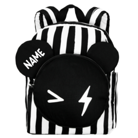 Backpack Bear Stripe Big Name