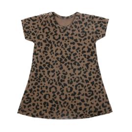Dress Brown Leopard Short SS20