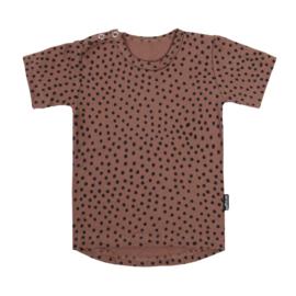 Tee Warm Pink Dots Short SS20