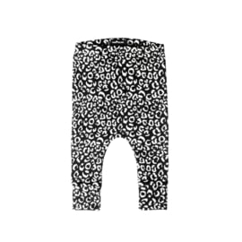 Pants Leopard Black