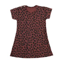 Dress Red Spots Short SS20