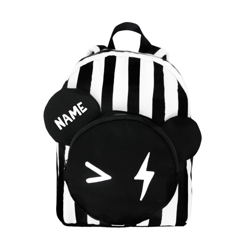 Backpack Bear Stripe Small Name