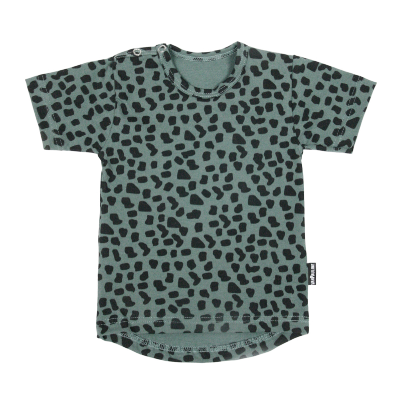 Tee Sea Green Spots Short SS20