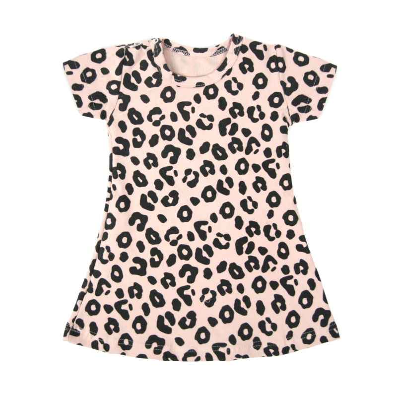 Dress Blush Pink Leopard Short