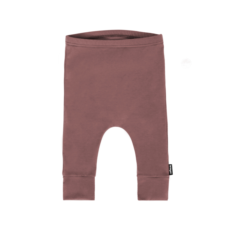 Pants Basic Dark Pink