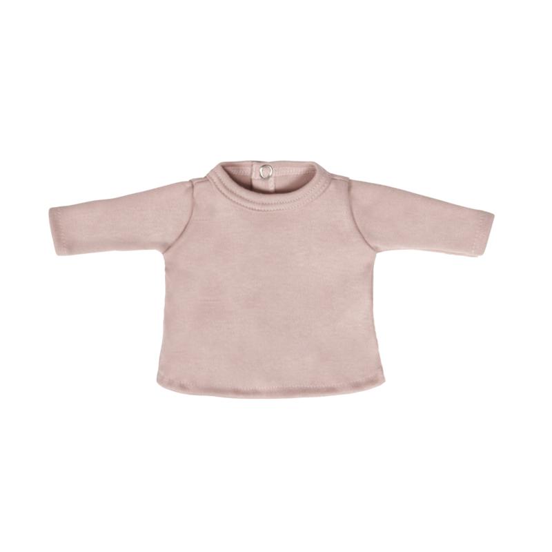 Poppenshirtje Blush Pink