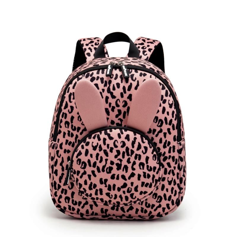 Backpack Bunny Pink Leopard